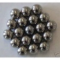 8 mm  acélgolyók nyílpisztolyhoz, 100 db