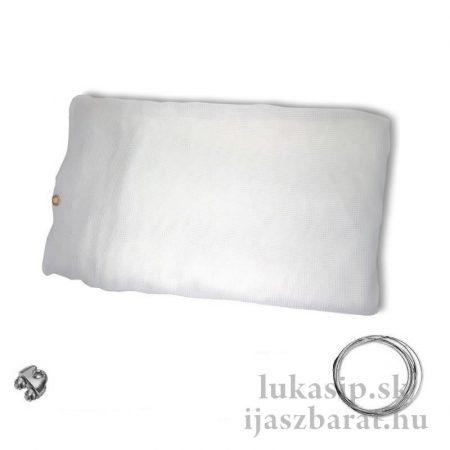 Vesszőfogó háló, 3,2 x 5m, standard fehér