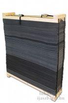 Avalon rétegelt vesszőfogó prés kerettel, 130 x 130 x 30 cm