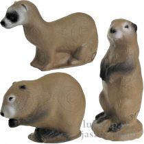 3D cél, kis állatok családja - 3Di