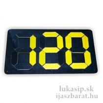 Eredményjelző táblas  (score flipboard)