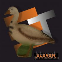 3D cél, liba – Eleven