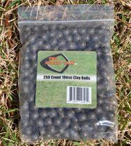 Agyaggolyók csúzliba 250 db
