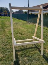 Fa vesszőfogó állvány, 125 cm
