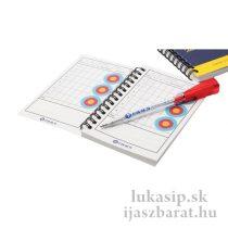 Score book - 120 oldalas edzésnapló + toll