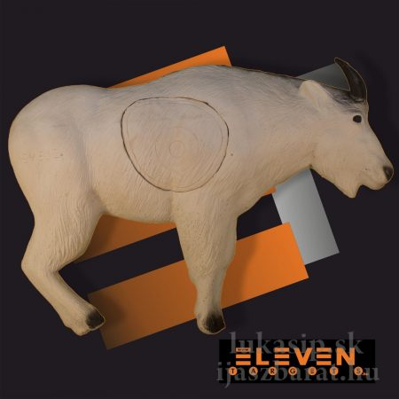 3D cél, fehér hegyi kecske – Eleven