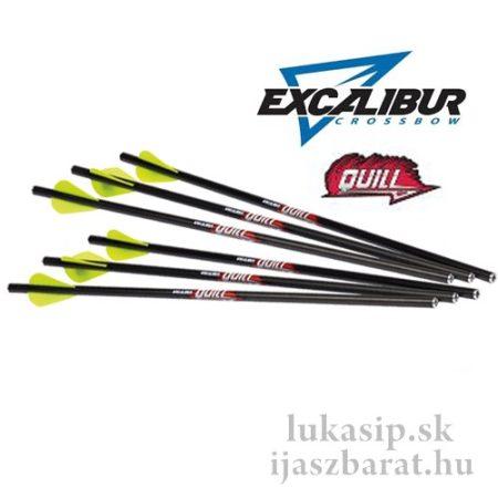 """Excalibur Quill  karbon nyílvesszők  Excalibur Micro számszeríjhoz, 16,5"""", 6 db"""