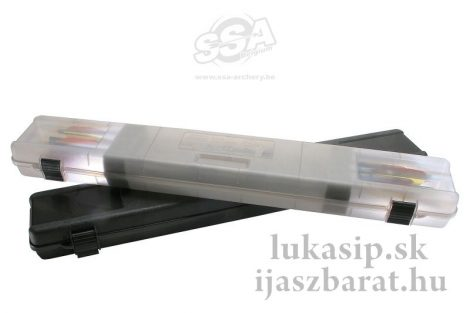 MTM ultra compact kemény tok 18 nyílvesszőre - fekete