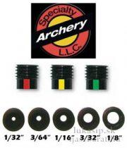 """Peep (kukucs) lencse insert clarifier 16/64"""" (1/4"""") Specialty Archery"""