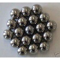 6 mm  acélgolyók nyílpisztolyhoz, 100 db