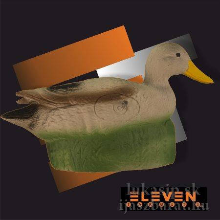 3D cél, kacsa - Eleven