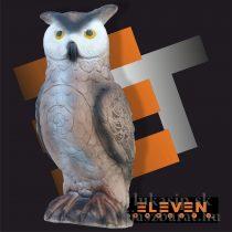 3D cél, fülesbagoly – Eleven