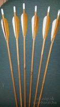 Válogatott natúr bambusz nyílvesszők 40-50 #