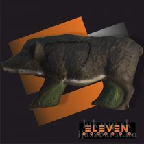 3D cél, vaddisznó – ELEVEN, cserélhető középrésszel