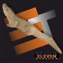 3D cél, krokodil - Eleven