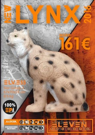 3D cél, hiúz – Eleven