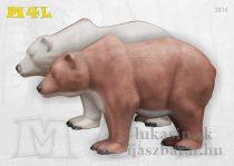 3D cél, medve - Eleven M4L