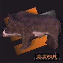 3D cél, közepes vaddisznó – Eleven