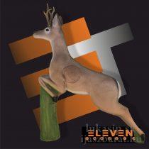 3D cél, ugró őz – Eleven