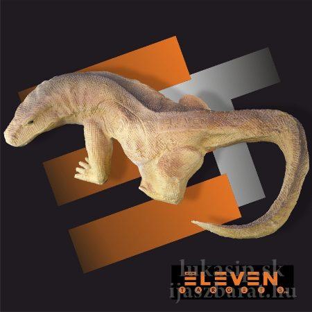 3D cél, varánuszgyík – Eleven