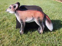 3D cél, róka – Csumi